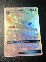 Pokemon Glaceon Gx Secret Rare 159/156 Ultra Prism NM/Mint