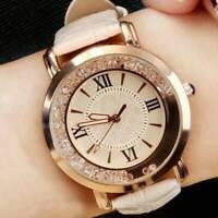 Crystal Diamante Women Girl Quartz Ladies Wrist Watches Elegant Rhinestone Watch