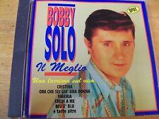 BOBBY SOLO IL MEGLIO (UNA LACRIMA SUL VISO) CD MINT-- DV MORE