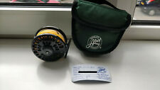 Abel Super 5 Fly Fishing Reel - Yellow Line / Black - Used but good condition