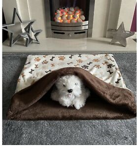 Dog Snuggle Sack / Dog Blanket / Dog Burrow Bag / Dog Fleece Bed / Pet Bed