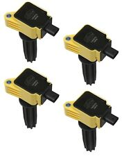Accel 140670-4 Ford EcoBoost 2.0 2.3 4 Cylinder 4 Pack 2.0L 2.3L Yellow