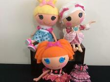 Lot 3 Lalaloopsy Full size dolls Bea Spells A Lot Cinder Slippers Suzette Sweet