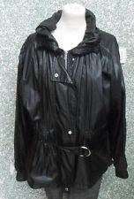 20 30/9 Millestone Damen Designer Jacke Gr. 42 schwarz Übergangsjacke modisch