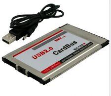 Pcmcia to usb 2 ports 2.0 cardbus