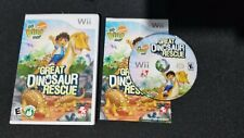 Go, Diego, Go Great Dinosaur Rescue - Wii - Complete - Manual - Tested Works!