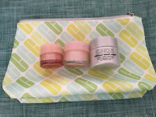 CLINIQUE MOISTURE SURGE, All About Eyes, SMART NIGHT & Make Up Bag ~LOT Of 4 NEW
