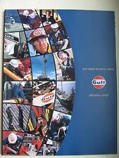Vintage GULF CANADA RESOURCES LIMITED 1998 ANNUAL REPORT Mint condition RARE