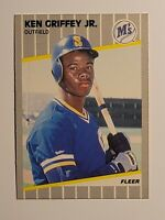 1989 Fleer Ken Griffey Jr #548 Baseball Rookie Card (RC) - Seattle Mariners HOF