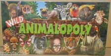 LATE-FOR-THE-SKY - ORIGINAL WILD ANIMAL-OPOLY - FACTORY SEALED - NEW