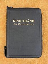 Vietnamese Bible, New Vietnamese Version, NVB, Black Leather Zipper