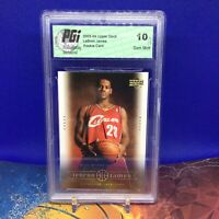 2003 UPPER DECK LEBRON JAMES WISE BEYOND YEARS ROOKIE CARD 20 GRADED 10