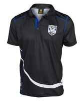Canterbury Bankstown Bulldogs NRL Polyester Polo Shirt Sizes S-5XL! BNWT's! W6