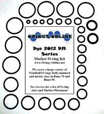 Dye 2012 DM Series Paintball Marker O-ring Oring Kit x 2 rebuilds / kits