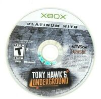 Tony Hawk's Underground Microsoft Xbox Original Game Only