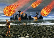 "Arte antiguo tarjeta postal-Helmut Menz - ""Futureworld-Apocalipsis"""