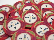 25 x Ultimate € Cash Game Keramik Pokerchips