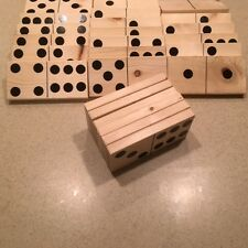 Giant Yard Dominoes!  Set of 28 (Double Sixes), Yard Games, FREE Shipping!