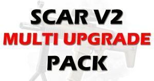 BEAST:  SCAR V2 MULTI UPGRADE PACK FOR GEL BALLS BLASTER FULLY LOADED PACK
