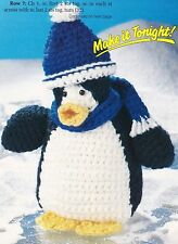 HAPPY Breezy Penguin/Toy/Crochet Pattern INSTRUCTIONS ONLY