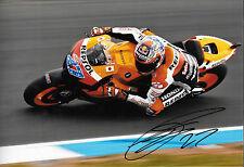 Casey Stoner firmado 12x8, Repsol-Honda, MotoGP Malasia 2012