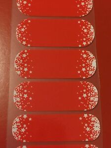Jamberry Half Sheet - Red, White, and Boom - Retired
