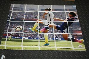 CARLI LLOYD SIGNED AUTOGRAPHED USA World Cup 16x20 Photo PSA/DNA COA Auto