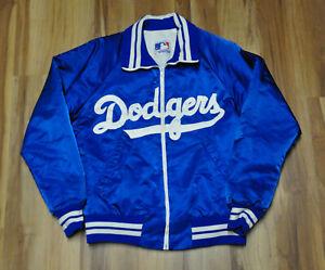 LOS ANGELES DODGERS VINTAGE STARTER BLUE JACKET SATIN LIGHT WEIGHT MLB MEN M
