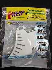 "White TKlip Toll Tag Transponder Holder ""Sunpass"" Fla-OK-KS-Georgia 2 for 1 Sale"