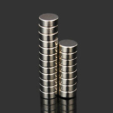 20pcs N52 10x4mm Super Strong Round Magnets Rare Earth Neodymium Magnets