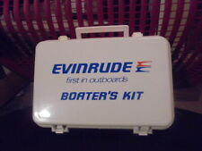 Evinrude first in outboards boaters first aid kit