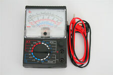 1Pc AC DC 2.5V-500V Black Volt Ohm Battery Testing Analog Multimeter Multitester