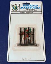 4 Block Signals / 42-2101 / HO Scale Detail Parts / Bachmann Accessories