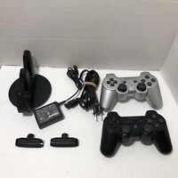 Sony Playstation 3 CECH-ZDC1U Dual Charging Station PS3 + 2 Sixaxis Controllers