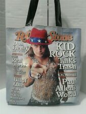Kid Rock Band Tote Bag Rolling Stone Magazine Cover Large Shopper Purse 90s Y2K