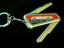 CHEVROLET CORVETTE Folding KEY BLANK 1953-1966 B-10 Vintage NOS C1 C2 Stingray