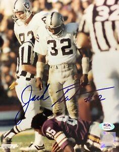 Jack Tatum Signed Autographed Oakland Raiders 8x10 Photo The Assassin Psa/Dna