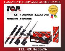 KIT 4 AMMORTIZZATORI TOP LINE FIAT PANDA 4X4 1.2 1.3 JTD 2003-2011 NUOVI