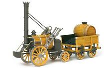 """Elegant, finely detailed model train kit by OcCre: the """"Rocket Locomotive"""""""