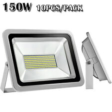 10x 150W Smd Led Cool White Flood Light Outdoor Landscape Garden Lamp Spotlight