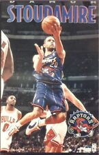SPORTS POSTER~Toronto Raptors Damon Stoudamire 1996 Original NBA PG Starline NOS