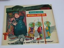 "Mitchell-Ruff Duo ""Place of out this World"" LP Roulette R-52002 Birdland Martian"
