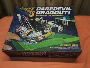 Vintage 1971 Hasbro Scream'n Demons Daredevil Dragout Wild One Cycles Excellent