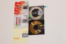 5 minidisques qui sont TDK Bit, VICOR Maxell Platinum Sony RARE