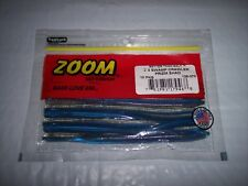 Zoom Z-3 Swamp Crawler Finesse Worm, 5.625 Inch 10 Pack - Prizm Shad