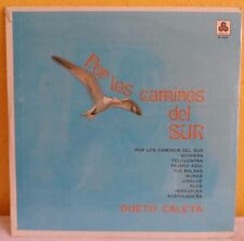 DUETO CALETA POR LOS CAMINOS DEL SUR MEXICAN LP STILL SEALED MEXICAN FOLK