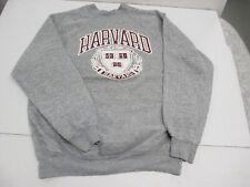 VTG Harvard University Crew Neck Sweatshirt Tultex 2XL XXL Heather Grey