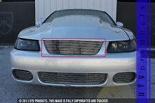 GTG 2003 - 2004 Ford Cobra Mustang 1PC Polished Upper Replacement Billet Grille
