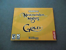 Neverwinter Nights: Gold  PC Game Disks Only - No Codes