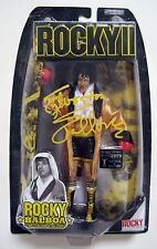 "Sylvester Stallone ""Rocky Balboa"" Signed Jakks Action Figure ASI Proof"